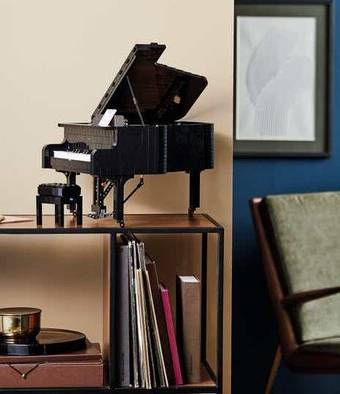 ساخت پیانو با بیش از سه هزار و ۵۰۰ قطعه خانهسازی